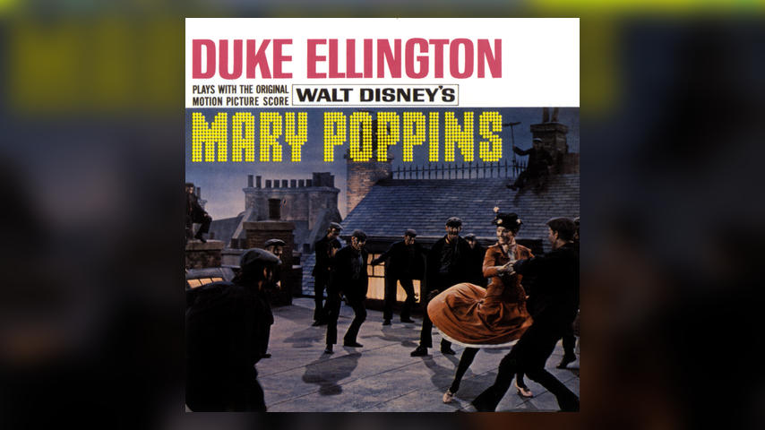 Duke Ellington PLAYS WITH THE ORIGINAL MOTION PICTURE SCORE TO WALT DISNEY'S MARY POPPINS Cover